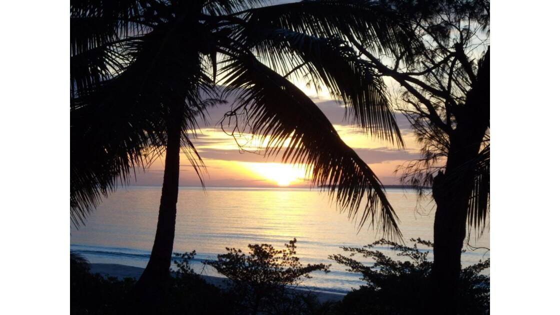 Coucher de soleil sur Ouvéa