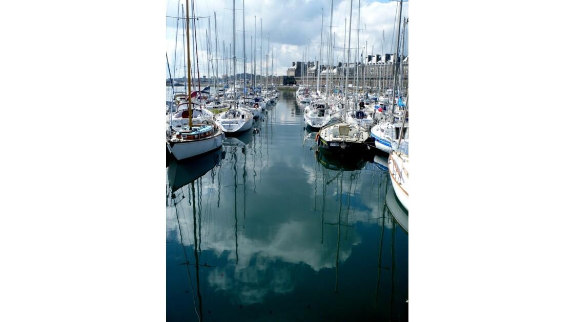 St Malo ,le port Vauban