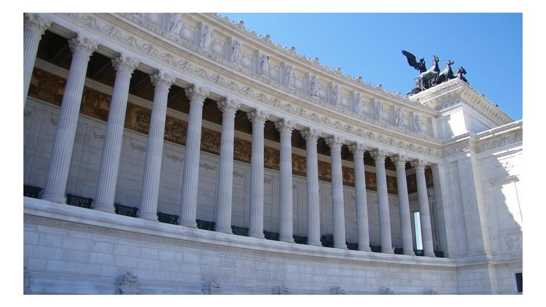 Le monument Vittoriano