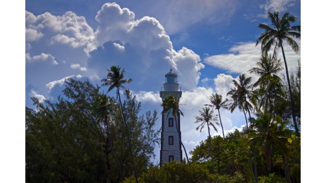 Phare de la pointe Vénus, Tahiti.