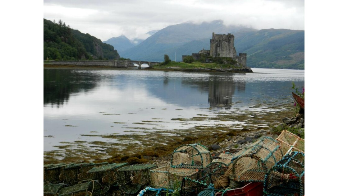 Le château d'Eilean Donan .JPG