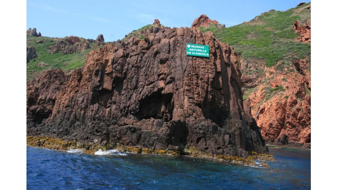réserve naturelle de Scandola..