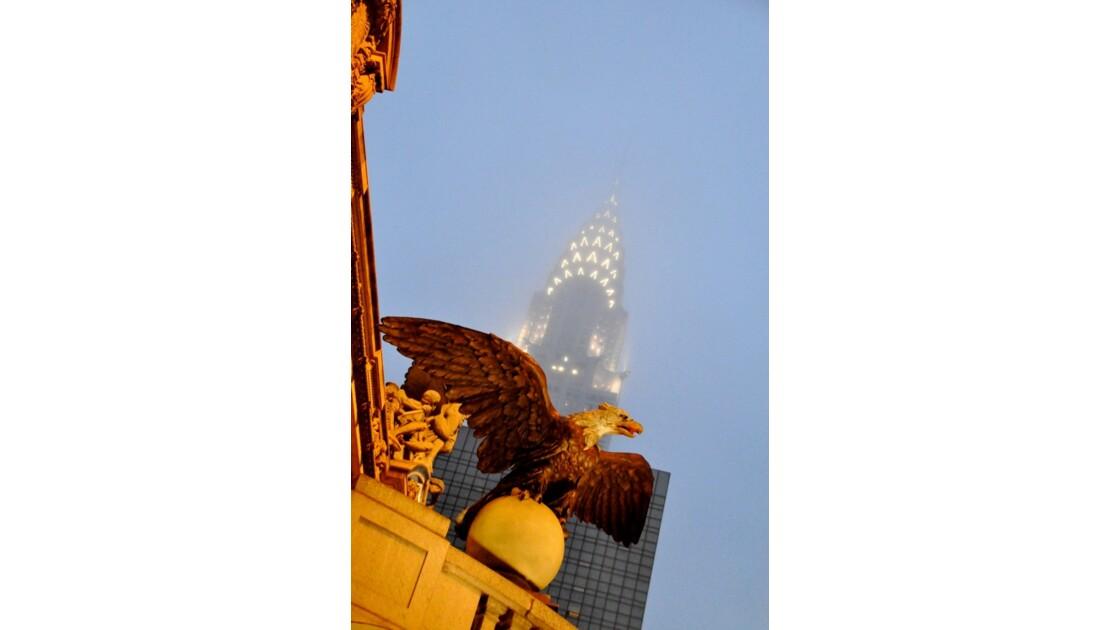 Grand Central's Eagle