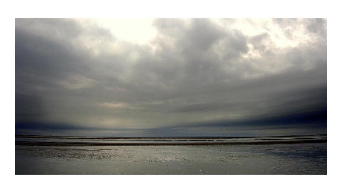 Baie du Mt St Michel : plage