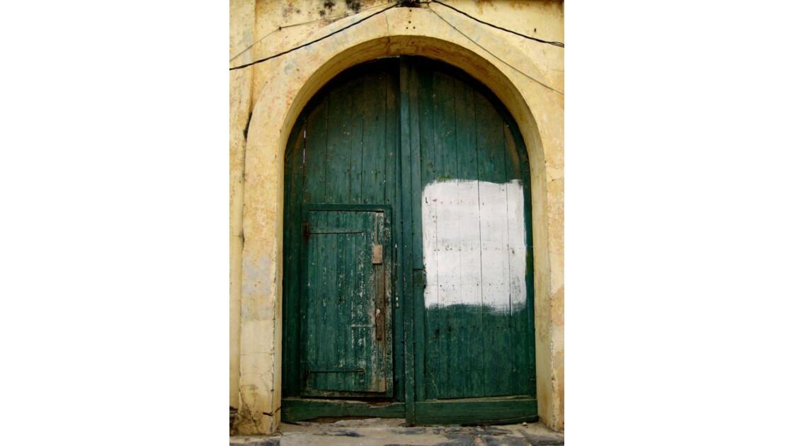 Porte peinte - Ile de Gorée, Sénégal