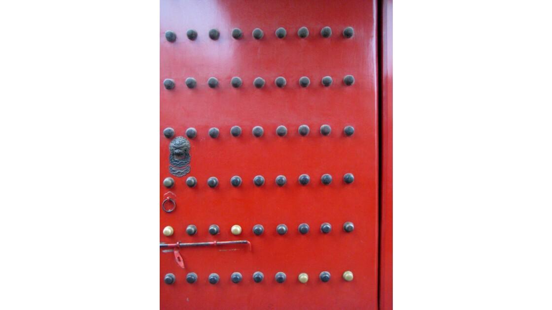Porte rouge - Cité Interdite, Chine
