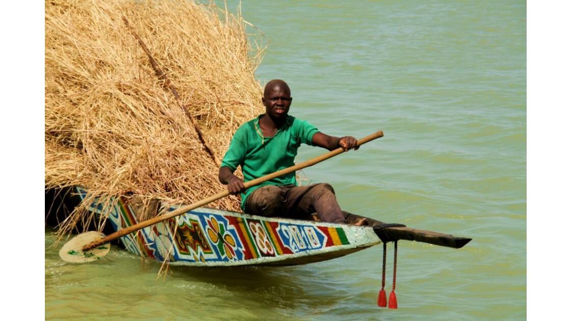 575.Fleuve Niger. MALI