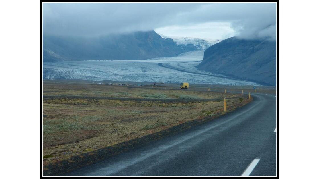 En route pour le glacier!