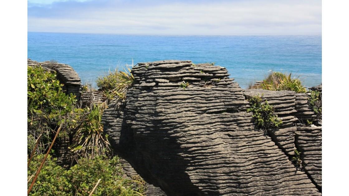 Pancake rocks - West coast
