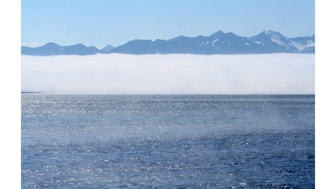 """""""Brume entre mer et montagnes ..."""""""