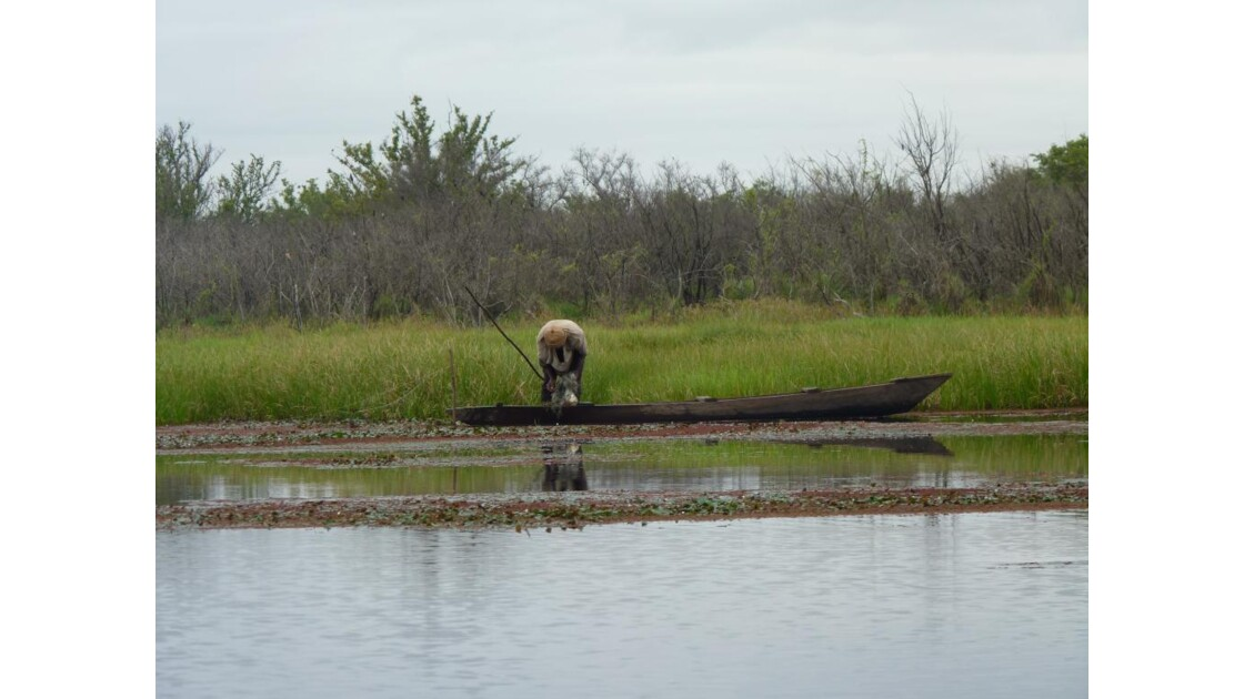 Pêcheur sur le lac de Bala