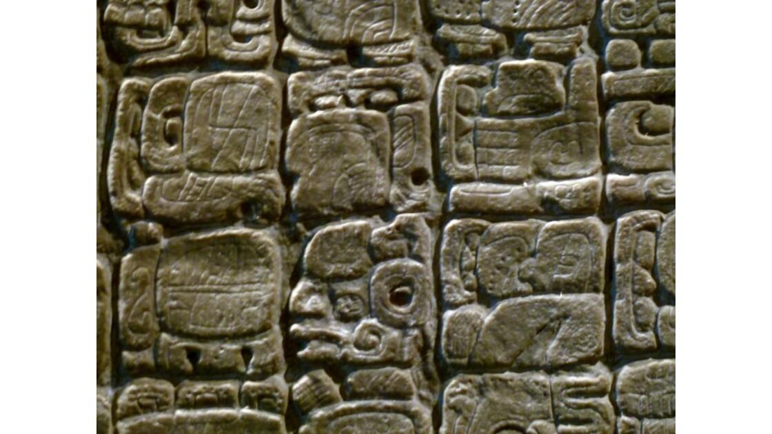 Glyphes Maya de Palenque