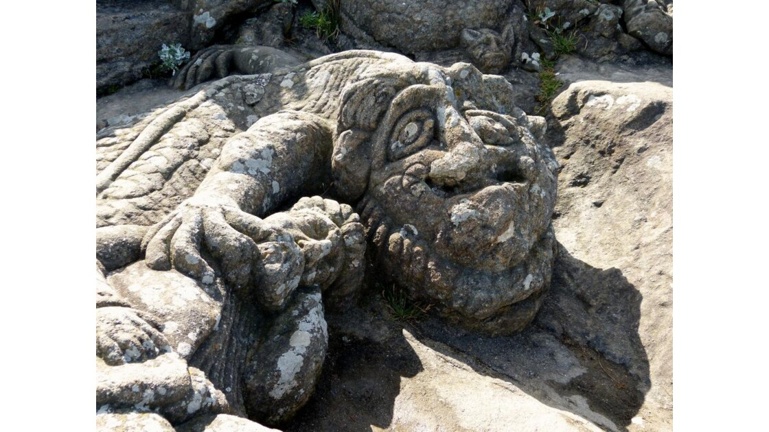 Une sculpture, Rothéneuf