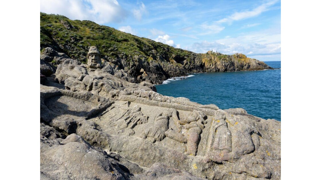 Les rochers sculptés de Rothéneuf