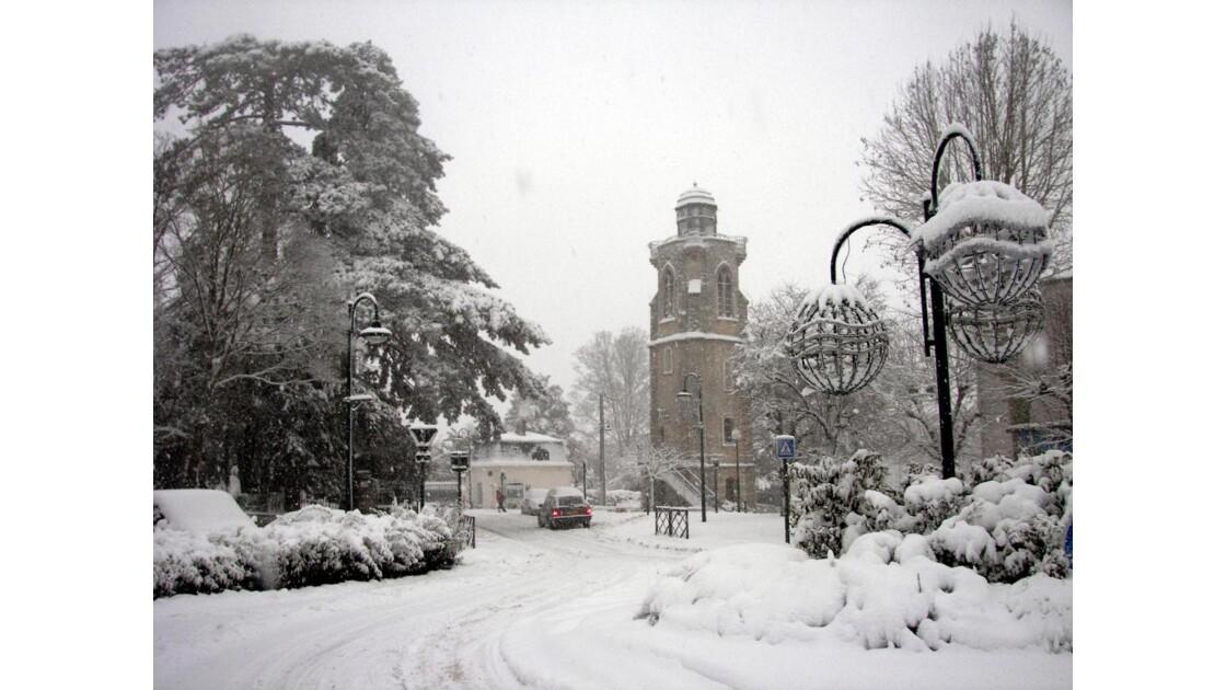 paysage d'hiver 2010