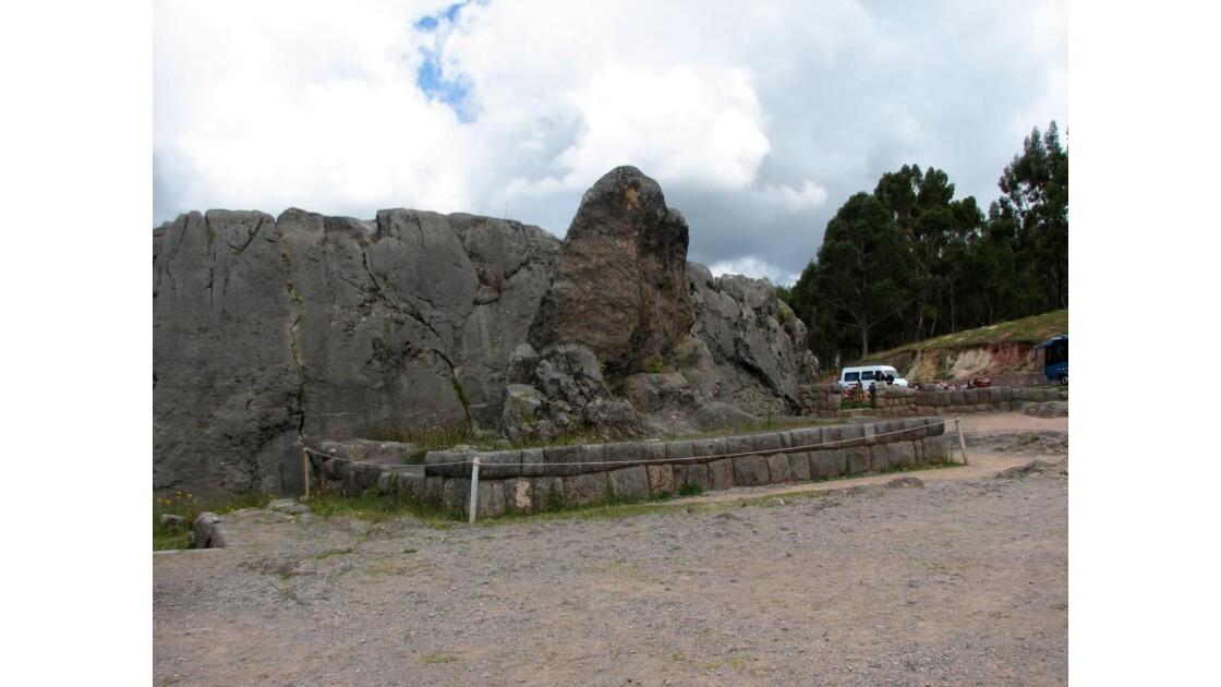 Monolithe de Qenqo près de Cusco - Pérou