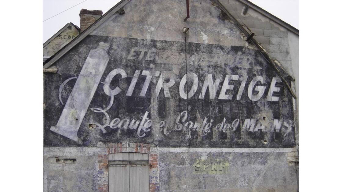Ancienne publicité