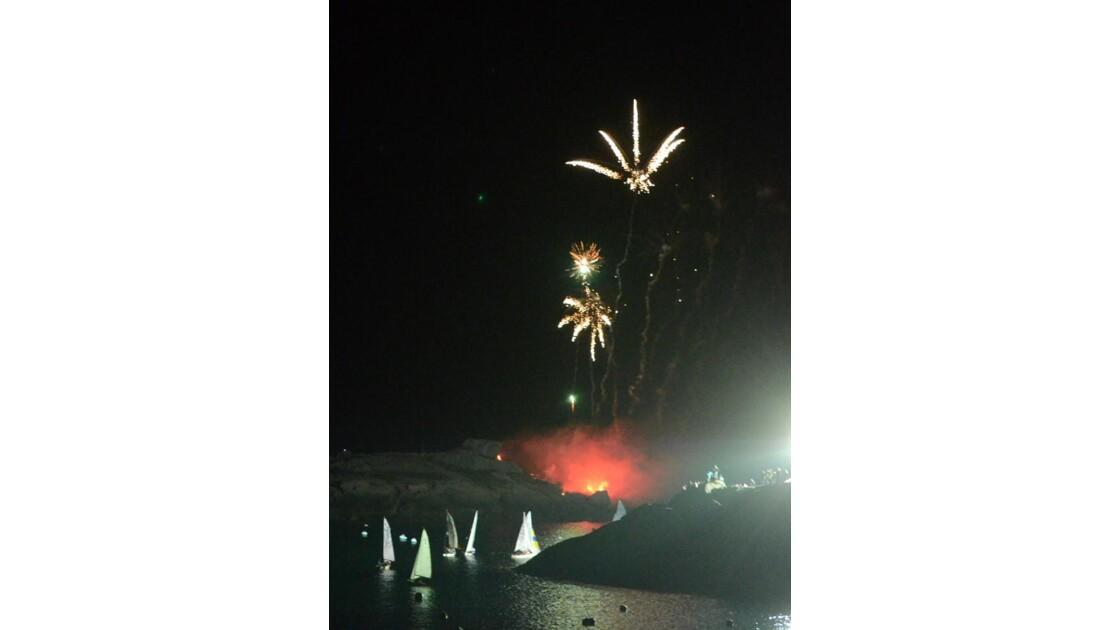 24h de la voile feu d'artifices 2