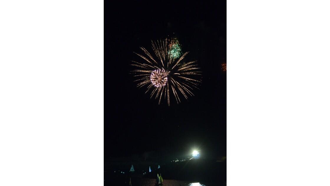 24h de la voile feu d'artifices 4