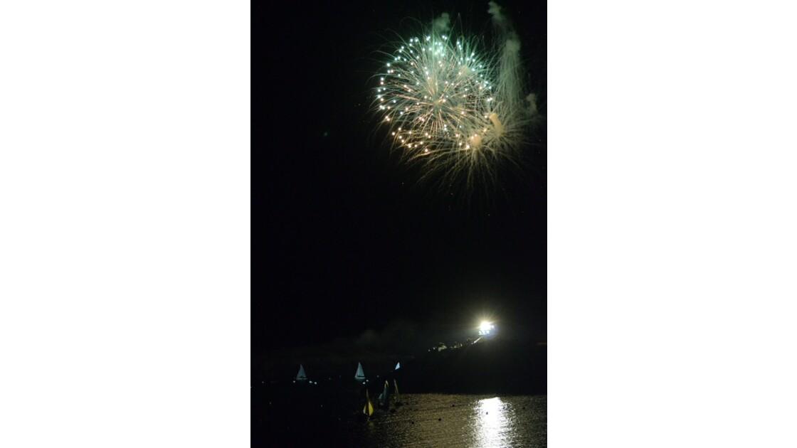 24h de la voile feu d'artifices 6