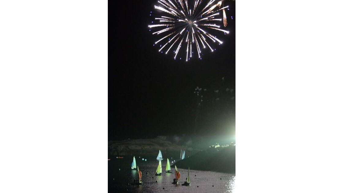 24h de la voile feu d'artifices 7