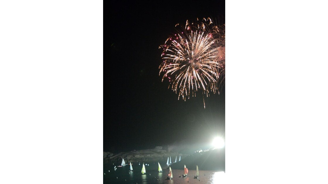 24h de la voile feu d'artifices 8