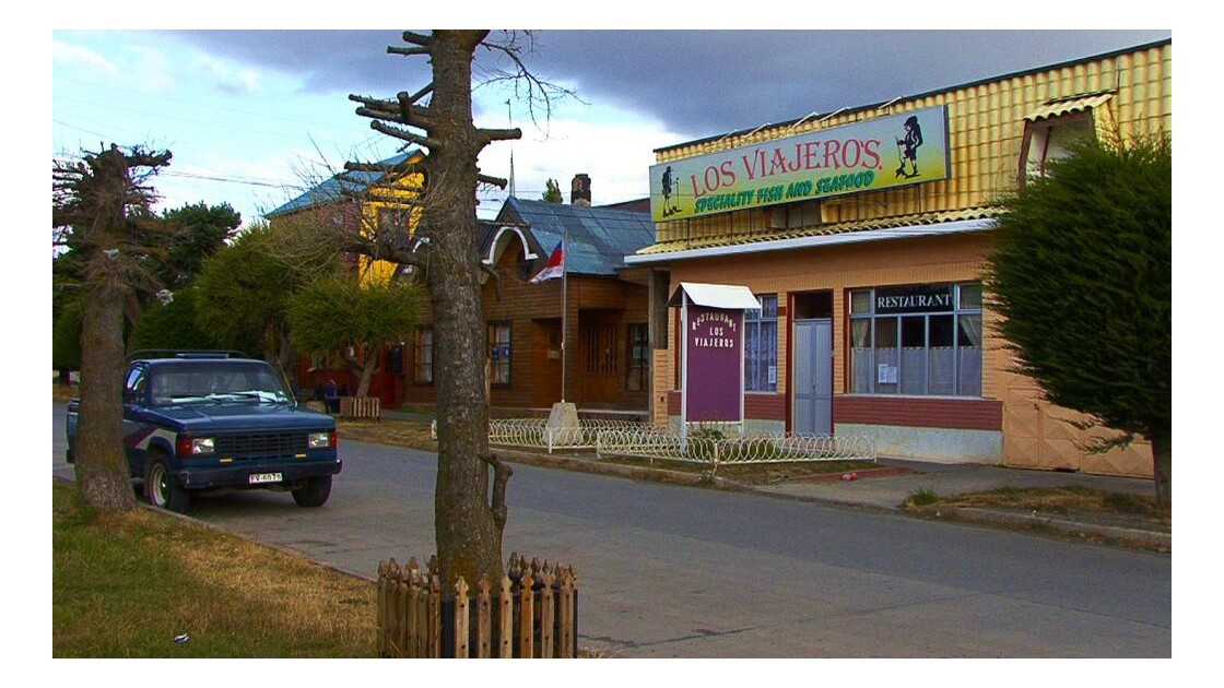 Puerto Natales, site de passage.