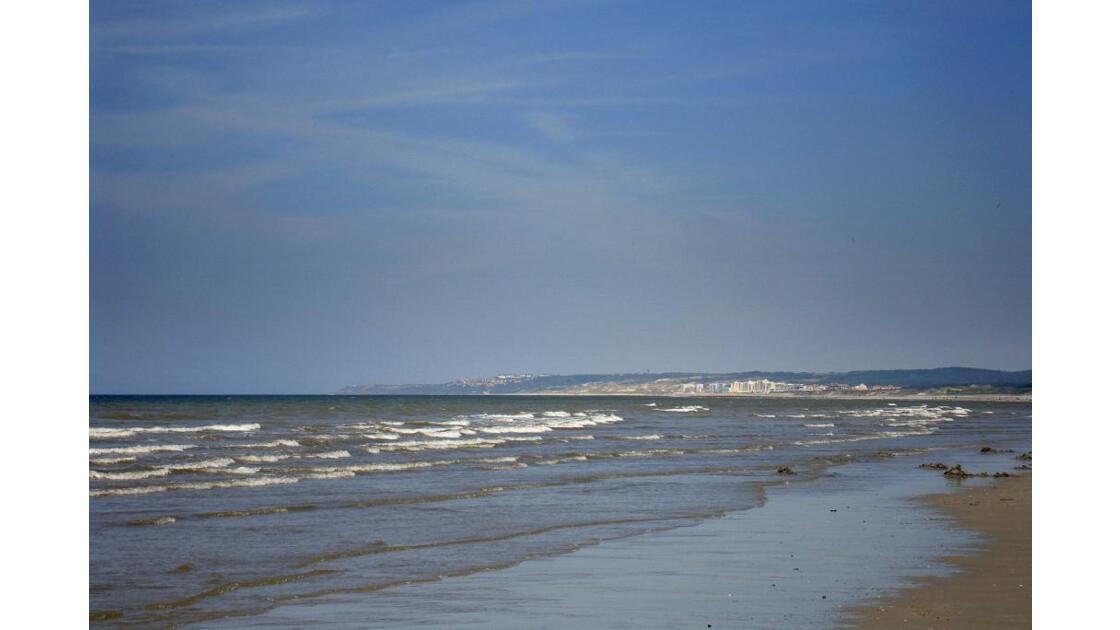 Sur la plage de Ste Cécile