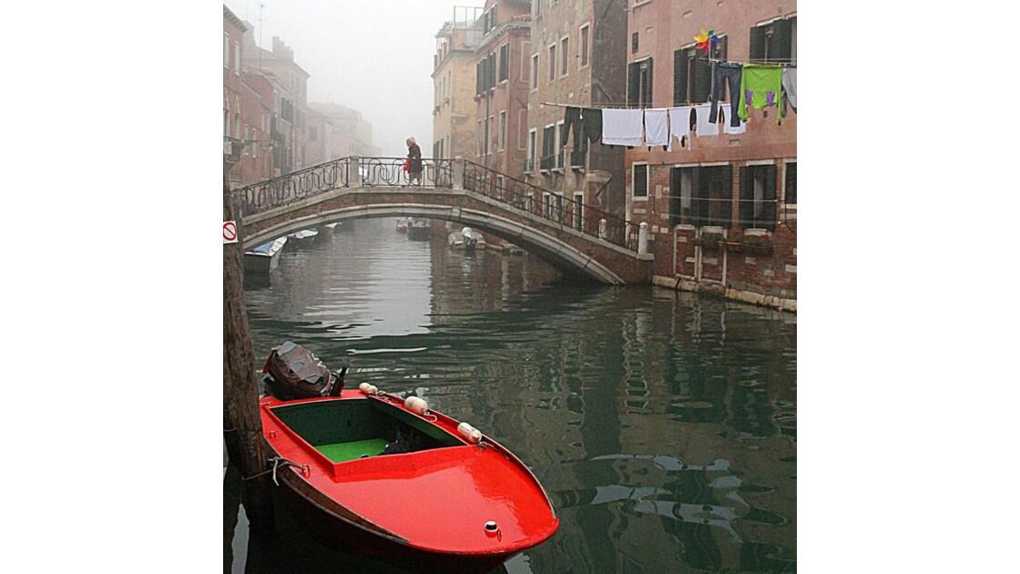 La barque rouge à Castello
