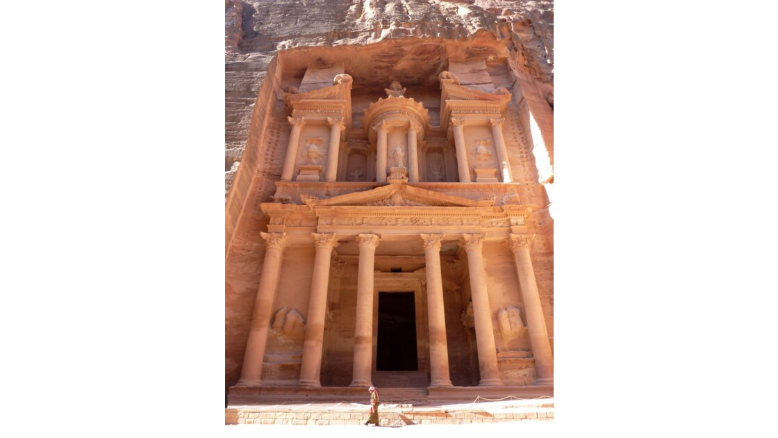 El Khazneh (Le Trésor) - Pétra