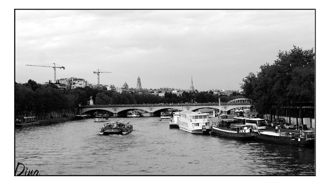 Trafic sur la Seine!