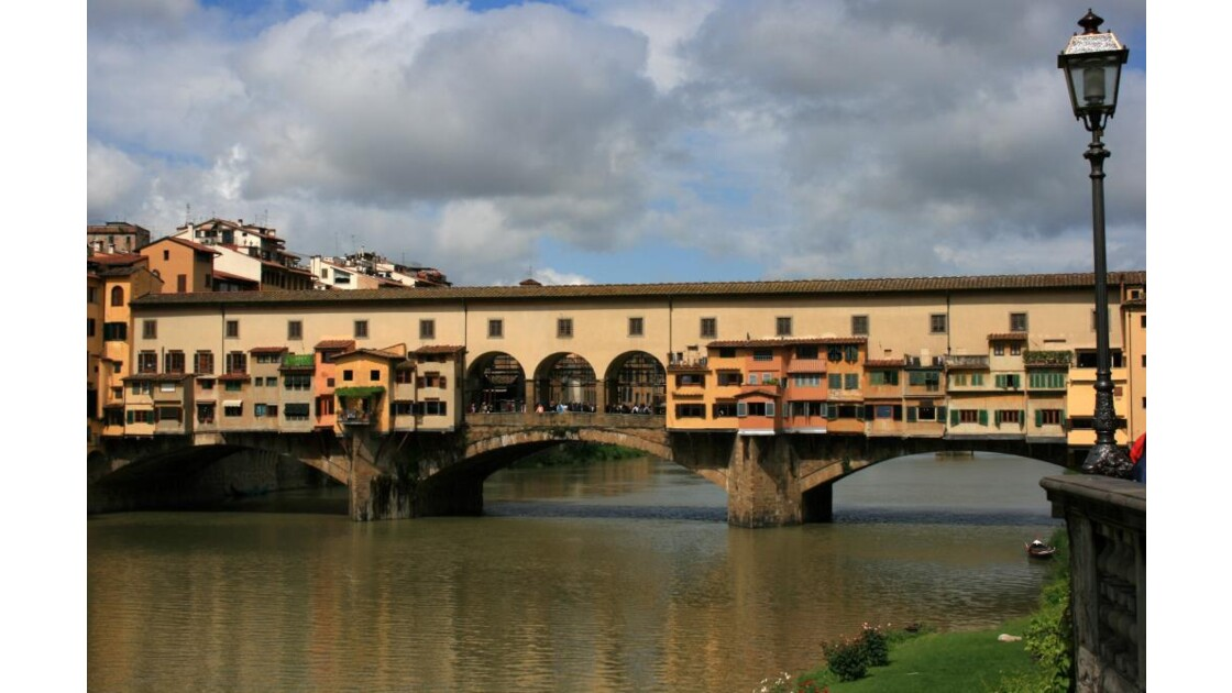 le Ponte Vecchio...