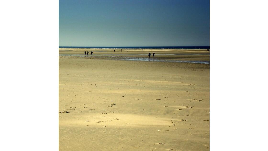 Sur la plage de Ste Cécile (62)
