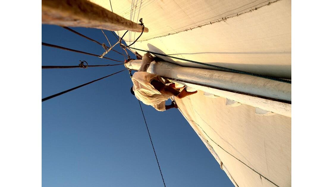 Nil - Navigation sur une Felouque