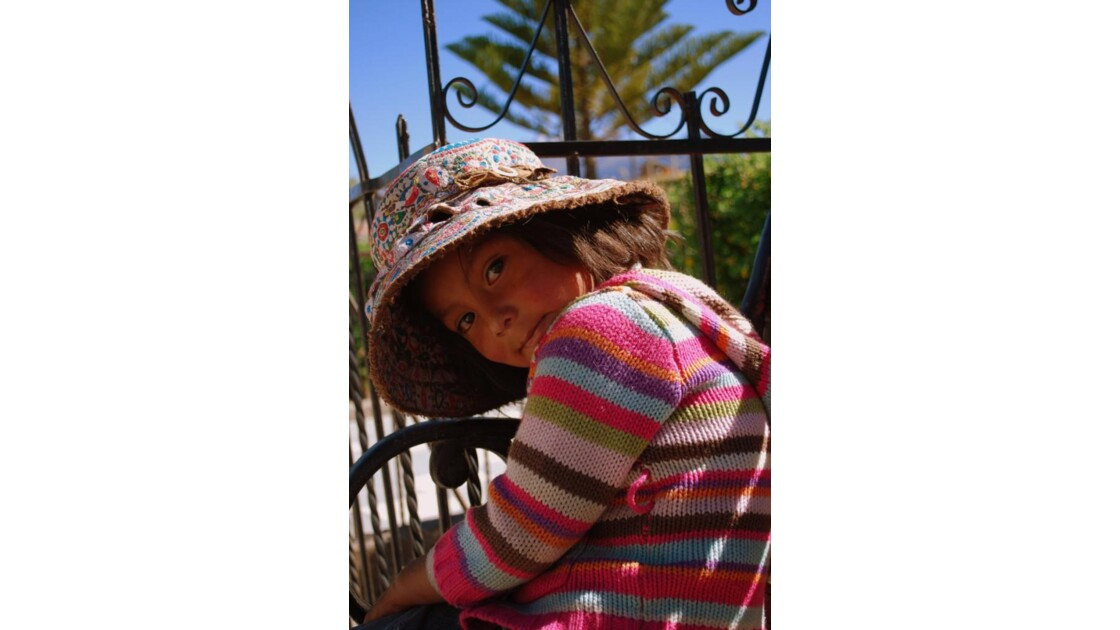 Jeune péruvienne