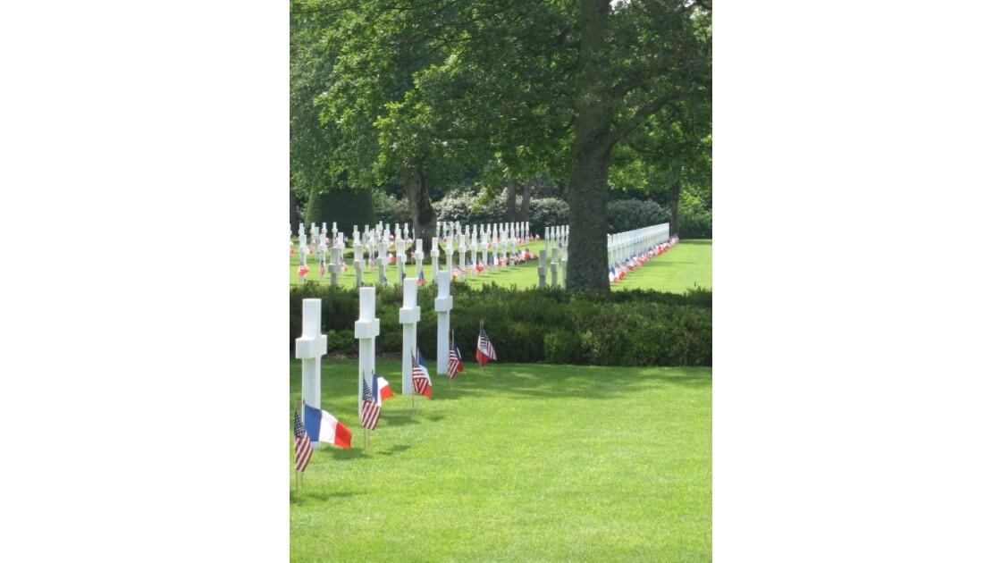 Colleville sur mer cimetière américain