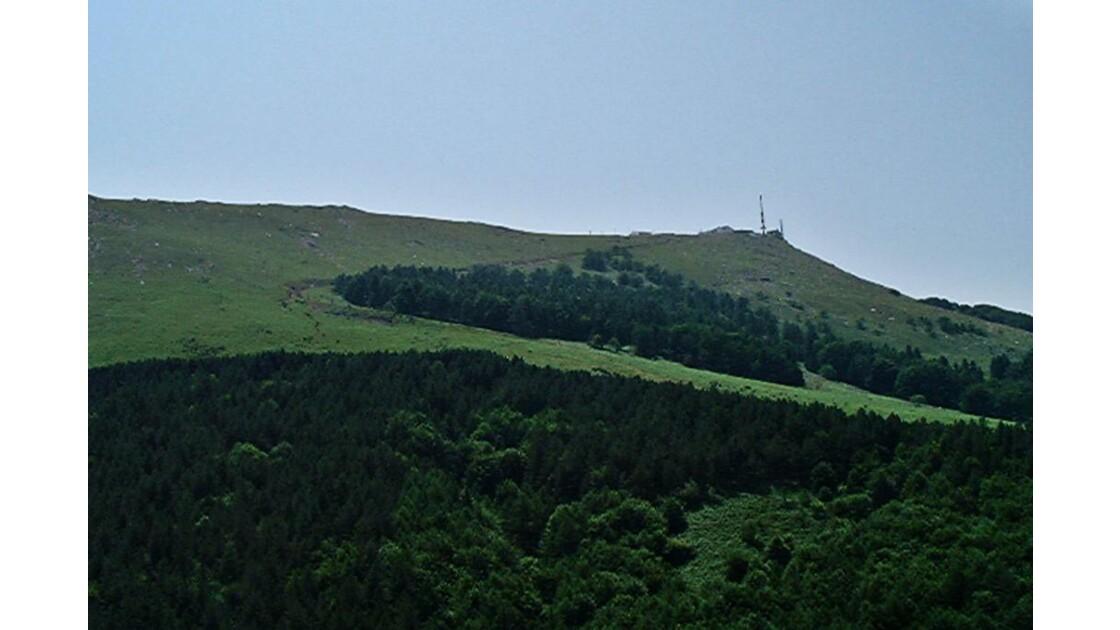 Sur la colline !