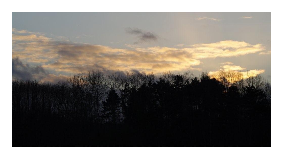 ciel du soir...