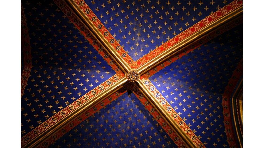 Fleurs de lys du plafond