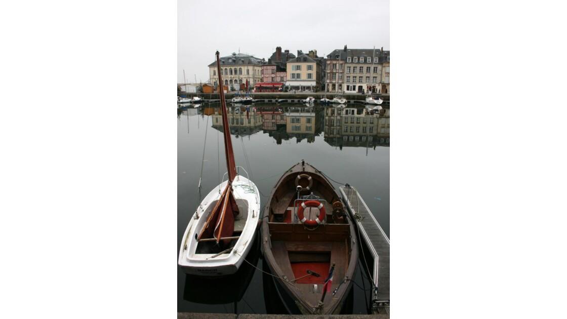 petits bateaux d'Honfleur...