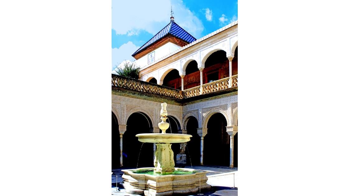 Casa de Pilatos et la source -fontaine
