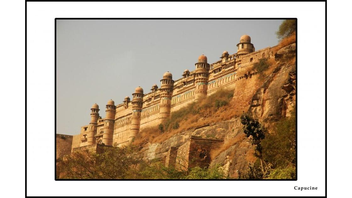 Le fort de Gwalior