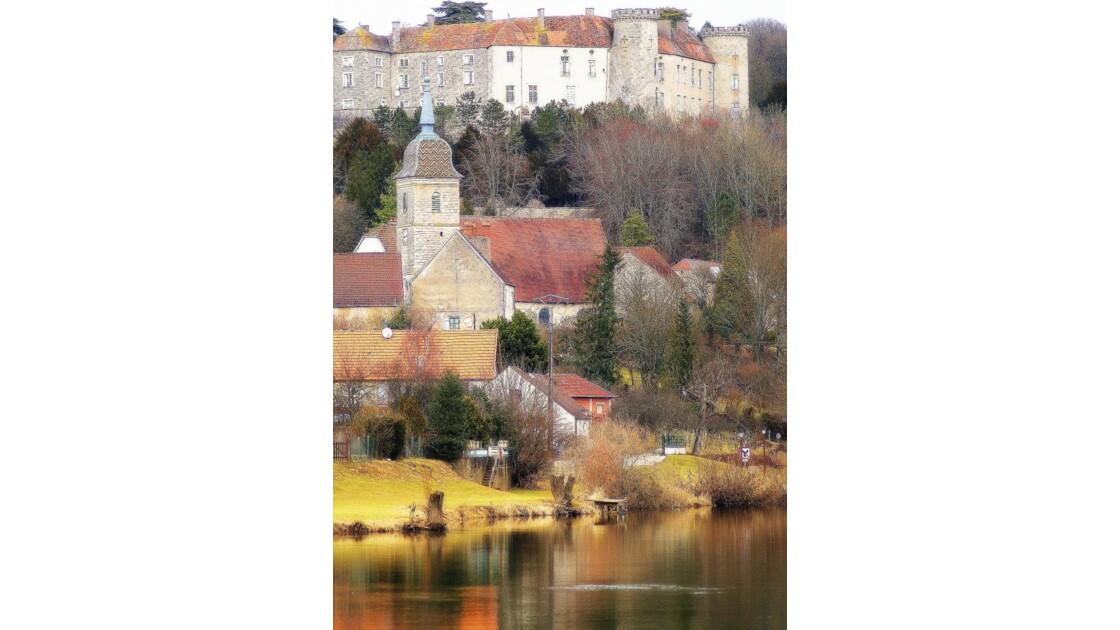 Ray sur Saone , son Eglise , son Château