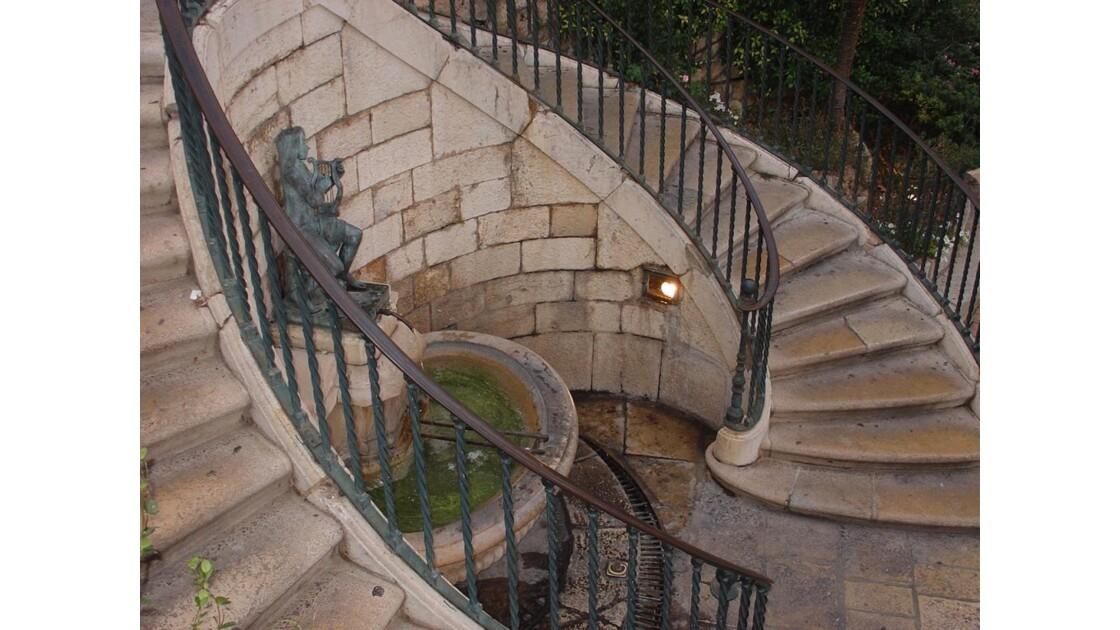 Grasse - Escaliers duThouron