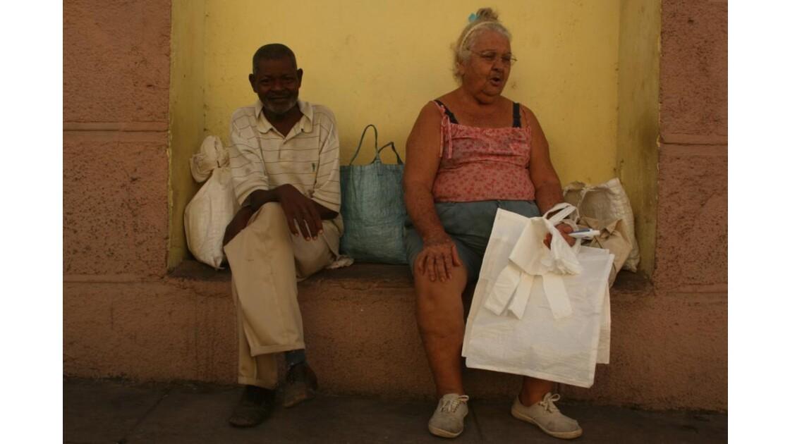 venditori di buste di plastica