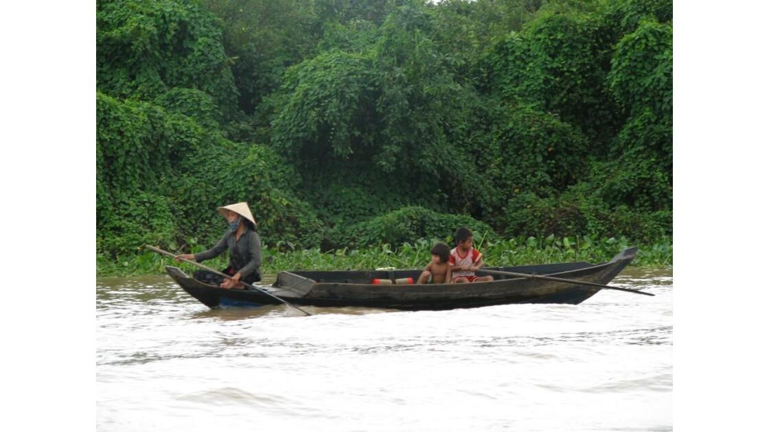 Lac Tonlé Sap la mangrove