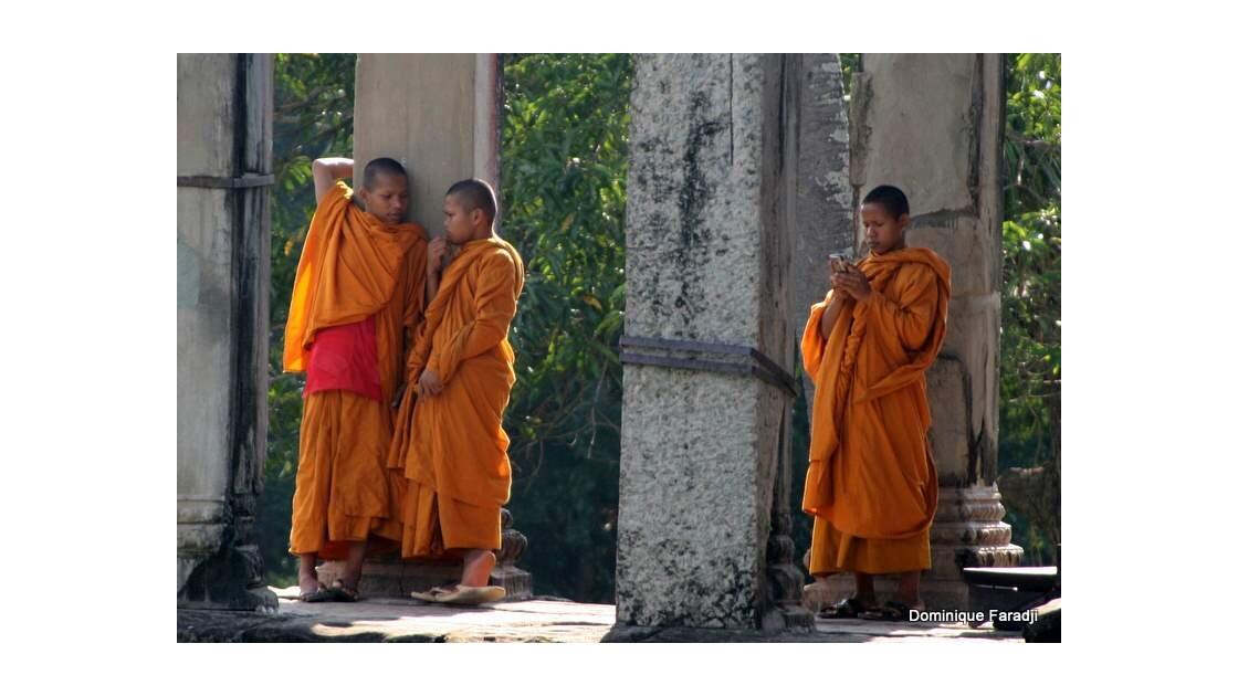 Moines Angkor Vat
