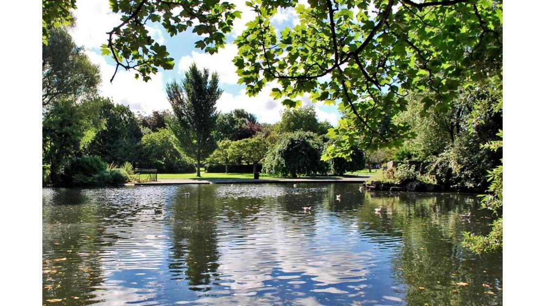 Le parc au coeur de la ville