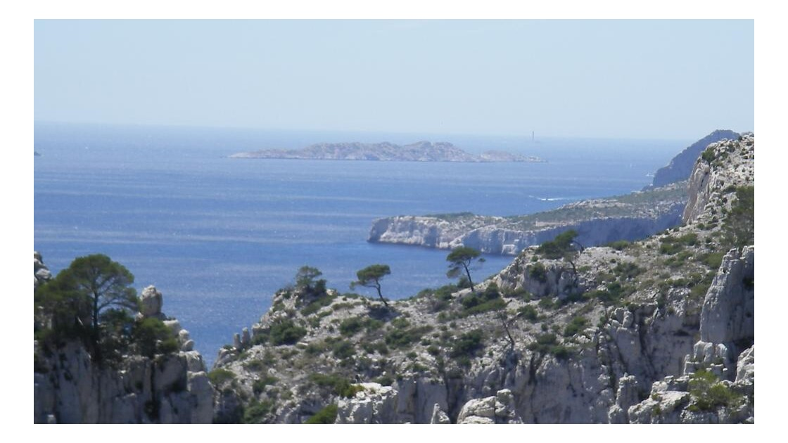 La cap Morgiou et l'ile de Jarre