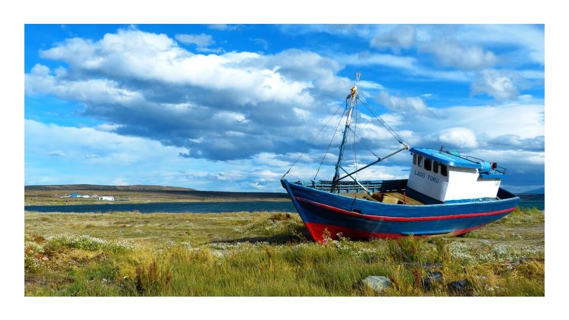 Cimetière de bateaux - Puerto Natales